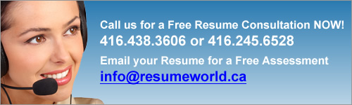 resume writing service for the construction industry